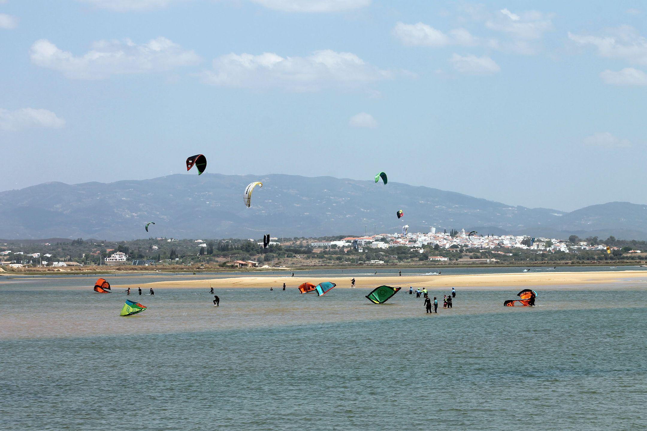 Kite surfing Alvor