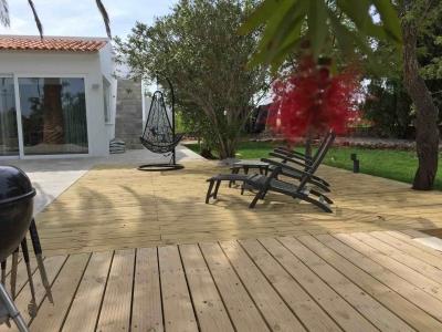 Montinho B&B Terrace wood
